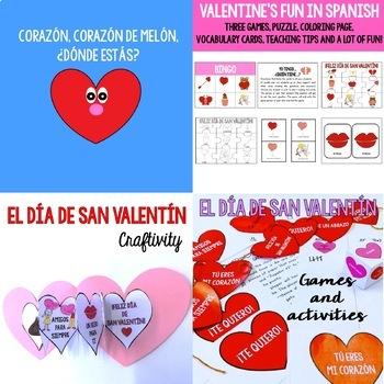 El Día de San Valentín / Valentine's Day Big Bundle