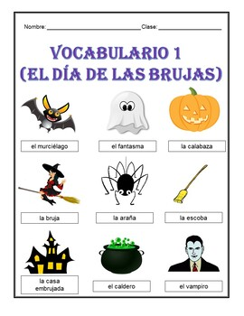 El Día de la Brujas/Halloween Activities (1st to 5th)