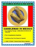 El Día de la Candelaria- Candlemas in Mexico-English Reading -SUB PLAN