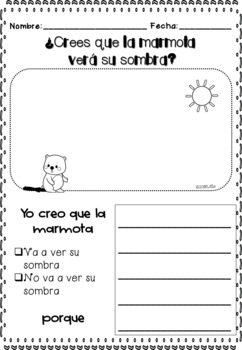 El Día de la Marmota / Groundhog Day Literacy & Math Center + Headband