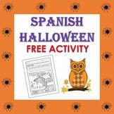 El Día de las Brujas/Halloween FREE Activity (1st to 5th)