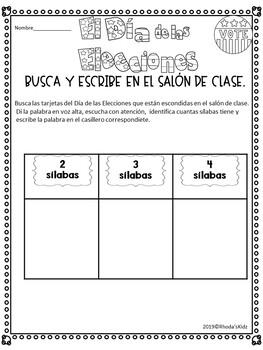 El Día de las Elecciones   -Reader en Español-