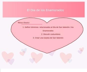 El Dia de los Enamorados (Valentine's Day)