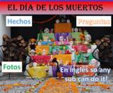 El Día de los Muertos Article with Questions