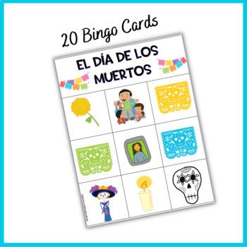 Spanish Day of the Dead /El Día de los Muertos {Bingo Game}