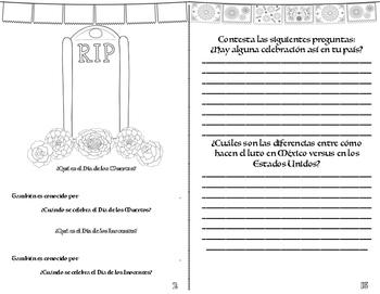 El Día de los Muertos Booklet {{Day of the Dead}}