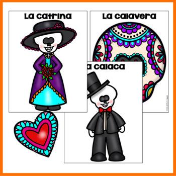 El Día de los Muertos / Day of the Dead Color by Number