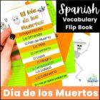 Dia de los Muertos Day of the Dead Interactive Vocabulary Flip Book