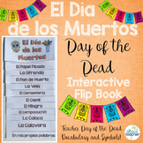 Dia de los Muertos Day of the Dead Interactive Vocabulary Flip Book