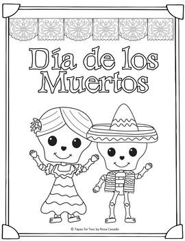 El Dia de los Muertos Day of the Dead Fun packet
