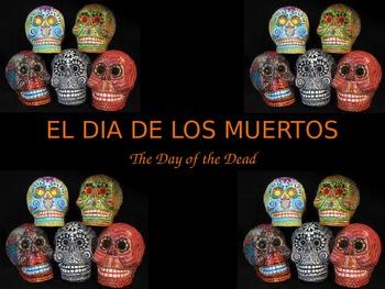 El Dia de los Muertos PowerPoint - English