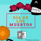 El Día de los Muertos PowerPoint In Spanish 48 Slides Day of the Dead Lesson