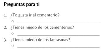 El Día de los Muertos - TPRS Story - Beginning Spanish