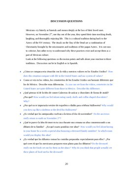 El Dia de los Muertos en Mexico (espanol)  (revised)