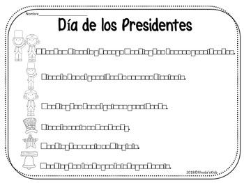 El Dia de los Presidentes Oraciones Revueltas