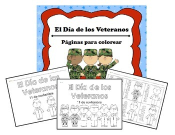 El Dia de los Veteranos SUPER Saver BUNDLE - 8 files in all!