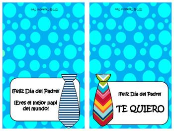 El Día del Padre ~ Tarjetas para imprimir