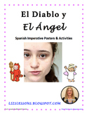 El Diablo y El Angel! Spanish Imperative Posters and Activities