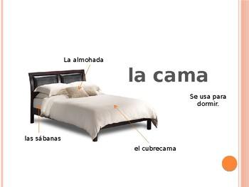 El Dormitorio y Los Colores - PowerPoint