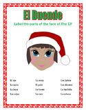 El Duende-Parts of the Face in Spanish- Christmas