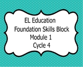 El Education Kindergarten Reading Foundation Skills Module 1 Cycle 4