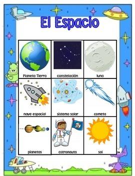El Espacio Bingo Game