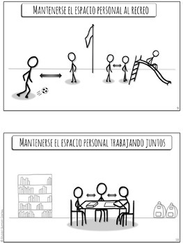 El Espacio Personal Un Narrativo Social • Personal Space Soc. Narrative, SPANISH