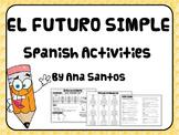 El Futuro Simple- Spanish activities