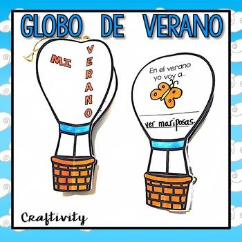 El Globo de Verano - Summer Craftivity