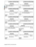El Gordo Lotería Tickets (Editable)