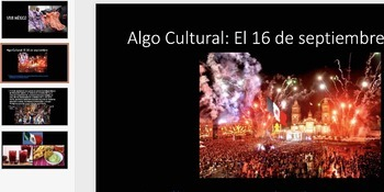 El Grito: Mexico's Independence Day Cultural and Interactive Activity