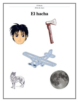 El Hacha estrategia de lectura/The Hatchet reading strategies
