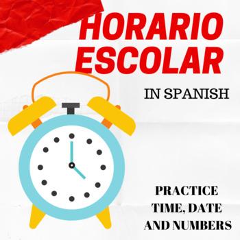 Listening Activity: El Horario Escolar (School Schedule)
