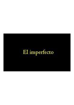 El Imperfecto - Canten las reglas - Sing the Imperfect rules