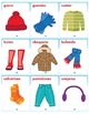 Spanish Winter Clothes Song - Flashcards