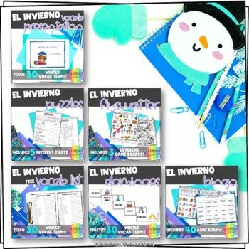 El Invierno Bundle! (Winter-Themed Bundle)