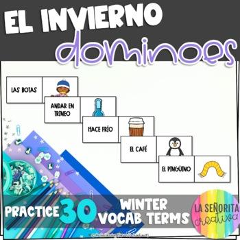 El Invierno Domino Game - Winter Dominoes