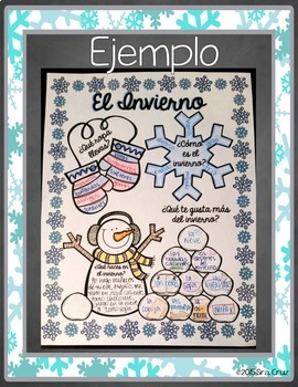 El Invierno Infographic Activity
