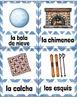 El Invierno SPANISH Winter Vocabulary Word Wall