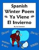 Spanish Winter Poem - Ya Viene El Invierno - Spanish Poetry