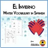 Winter Spanish Vocabulary - El Invierno
