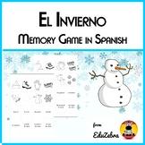 El Invierno - Winter Vocabulary - Memory Game