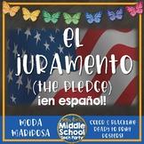 El Juramento. (The Pledge) ¡en español!  *Moda Mariposa*
