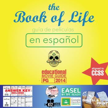 7th grade spanish movie guides resources lesson plans teachers el libro de la vida gua de pelcula en espaol book of life movie guide fandeluxe Images
