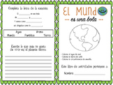 El MUNDO Booklet Español. Ciencias, vocabulario la tierra. Spanish science earth