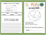 El MUNDO Booklet Español. Ciencias, vocabulario la tierra.