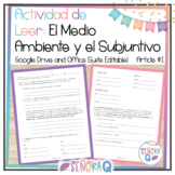 Spanish Environment and the Subjunctive Reading Activity 1