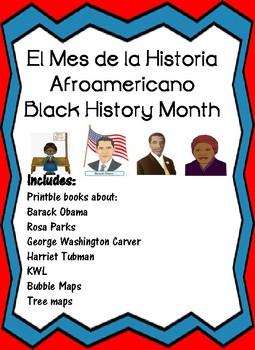 El Mes de La Historia Afroamericano Spanish Black HIstory Month