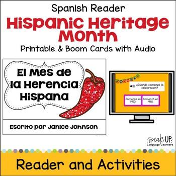 El Mes de la Herencia Hispana {Hispanic Heritage} Reader & Cut & Paste {SPANISH}