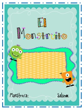 El Monstruito Take Home Binder-Spanish